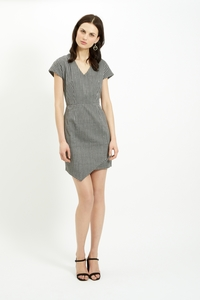 Jillian Asymmertrical Dress  - People Tree