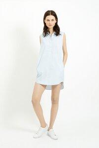 Kathleen Shirt Tunic Blue  - People Tree