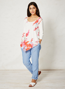 Florinda  Top - floral - Thought | Braintree