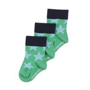 Socke Sterne in zwei Farben - Green Cotton
