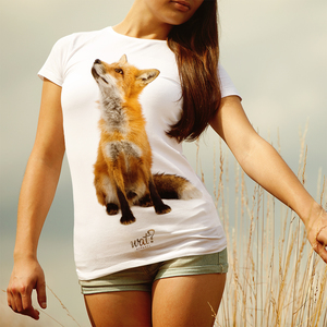 'Fox, der Fuchs' T-Shirt Damen Bio Baumwolle - What about Tee