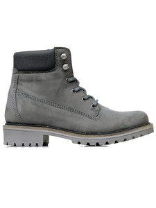 MEN'S DOCK BOOTS GREY - WILLS LONDON