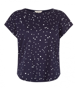 Clio Top Navy - People Tree