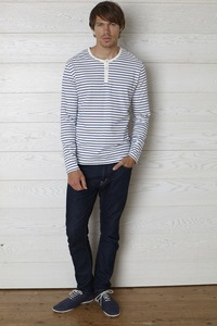 Lucas Stripe Longsleeve Tee - People Tree