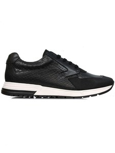 PARIS TRAINERS BLACK - WILLS LONDON