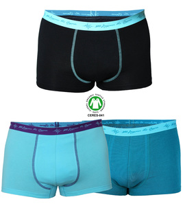 3er Mix Pack Herren Retro Pants GOTS petrol / schwarz mint / aqua - 108 Degrees