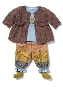 Baby Albury Knit Jacke - noa noa miniature