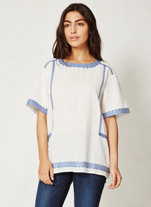 Karima Top - ivory - Braintree