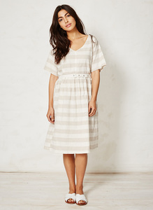Latifa Dress - stripe - Thought | Braintree