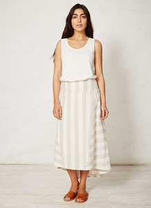 Latifa skirt - stripe - Braintree