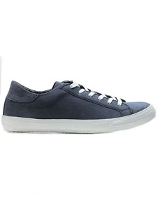 Low Sneakers Cobalt - WILLS LONDON