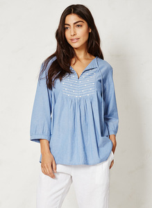 Kara Top - light denim - Braintree