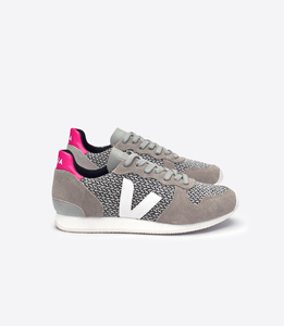 HOLIDAY LOW TOP BLEND BLACK W HITE OXFORD GREY WHITE - Veja