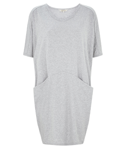 PAMELA DRESS GREY - People Tree