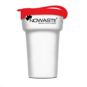 Mehrweg-Becher 300 ml mit Deckel - NOWASTE