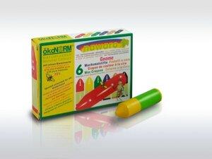 Wachs-Wichtel 6 Farben - ökoNORM® nawaro