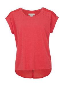 Shirt mit Voile Rückenteil - rot - Madness