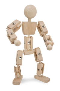 Basisfigur Helden aus Holz  - Helden aus Holz