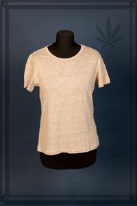 Frauen T-Shirt pure Hanfjersey  - Hanfwelten