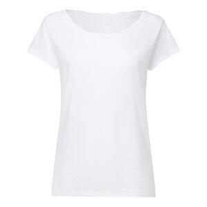 ThokkThokk Damen Twisted Collar Tencel T-Shirt  - ThokkThokk ST