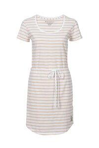 Frauen-Kleid STREIFEN apricot-weiss von recolution - recolution
