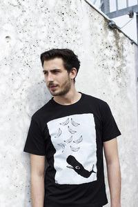 whale vs. ships #2 Men T-Shirt Organic & Fair Wear - ilovemixtapes