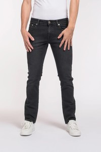 jeans Slim Fit - Lassen - Stone Black - Mud Jeans