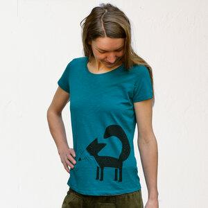 Franzi Fuchs T-Shirt Damen ocean depth - Cmig