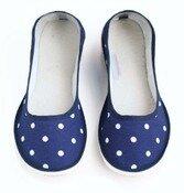 Ballerina dotty blue - Ursanina