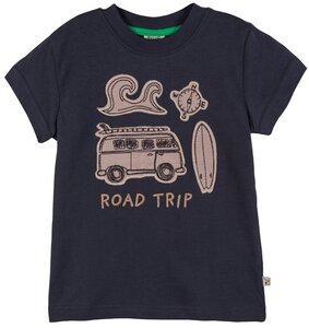 T-Shirt BEACH (GOTS-zertifiziert)  - Frugi