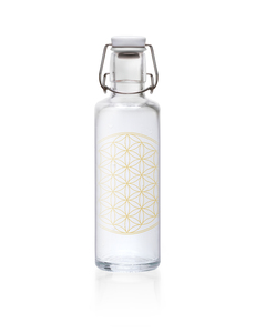 soulbottle 0,6l 'Flower of Life' - soulbottles