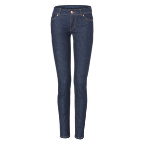 Womens Slim Jeans Raw One Wash - goodsociety