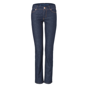 Womens Straight Jeans Raw One Wash - goodsociety