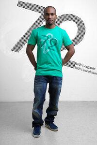 Männer T-Shirt 100% organic - recolution