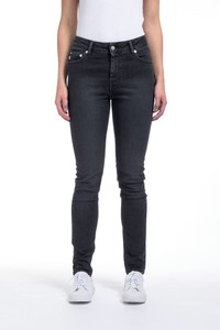 Skinny Hazen - Stone Black  - Mud Jeans
