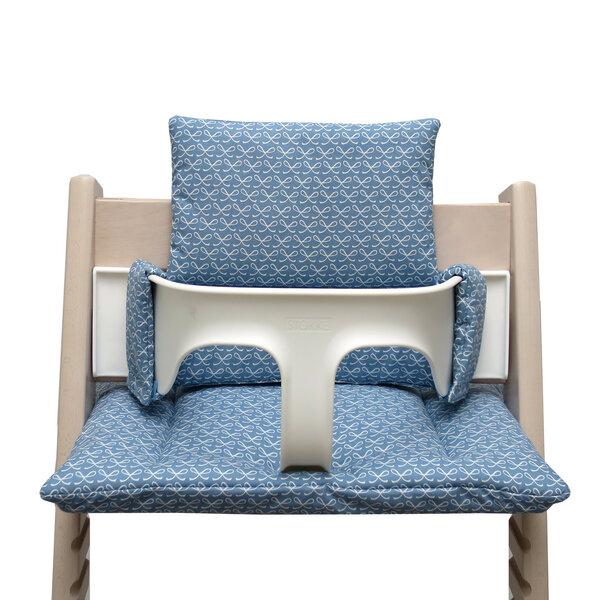 blausberg baby sitzkissen set f r tripp trapp happy loop blau avocadostore. Black Bedroom Furniture Sets. Home Design Ideas
