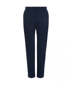 Alba Trousers Navy - People Tree