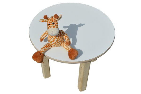 Die schreiner christoph siegel kindertisch rund for Kindertisch rund