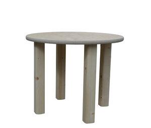 Kindertisch - natur - runde Tischplatte - NEU - Die Schreiner Christoph Siegel