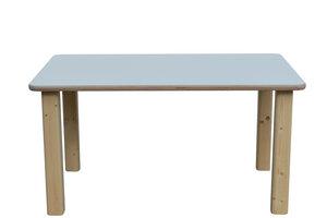 Kindertisch - weiße, rechteckige Tischplatte - NEU - Die Schreiner Christoph Siegel