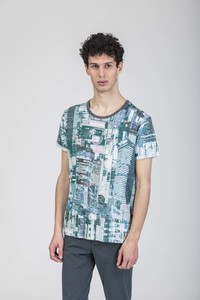 Gregor T-Shirt / 0178 Eucalyptus / Mimetico - Re-Bello