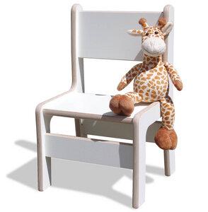 Kinderstuhl - weiß - sehr stabil - - Die Schreiner Christoph Siegel