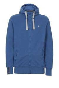 Männer Zip Hoodie JACK THE ZIPPER blau - recolution