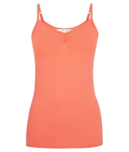 Jemma Camisole Top Coral  - People Tree