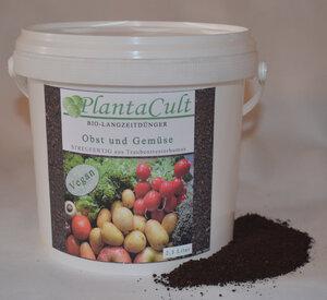 Veganer Biolangzeitdünger von PlantaCult  Eimer à 2,5 Liter - PlantaCult
