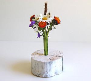 Deko-Holzvase 'Shabbyflower' - Die Schreiner Christoph Siegel