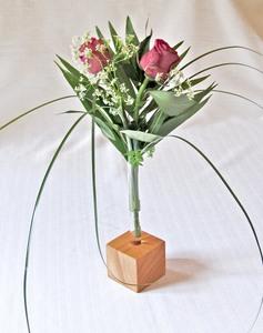 Blumenvase aus Holz - Die Schreiner Christoph Siegel