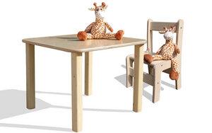 Kindersitzgruppe - Tisch und 1 Stuhl - Die Schreiner Christoph Siegel