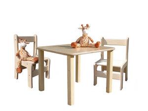 Kindersitzgruppe - Tisch und 2 Stühle - Die Schreiner Christoph Siegel