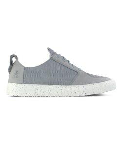 argan low / grau vegan / weiße sohle - ekn footwear